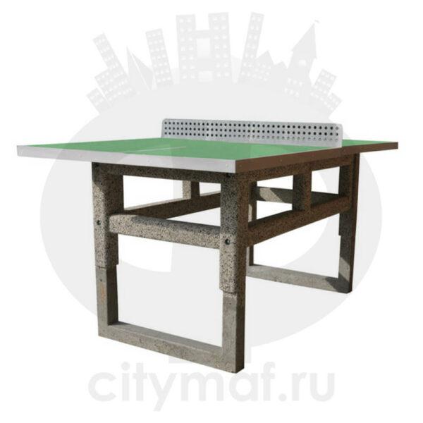 Бетонный теннисный стол 502b (вкапываемый)