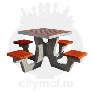Бетонный шахматный стол 505
