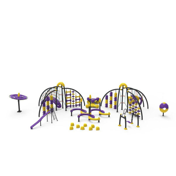 Детский игровой комплекс Динамический DN304