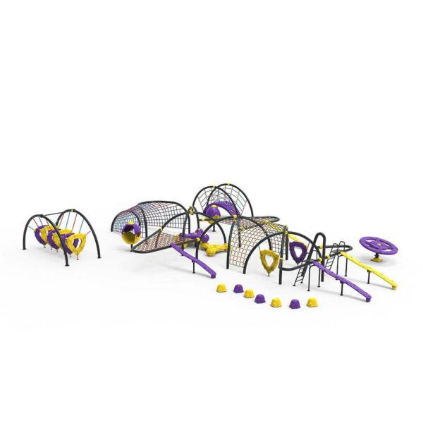 Детский игровой комплекс Динамический DN309