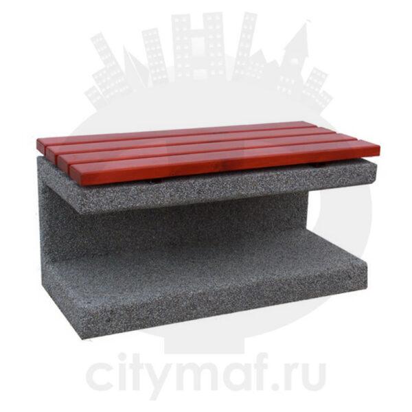 Лавочка бетонная 409