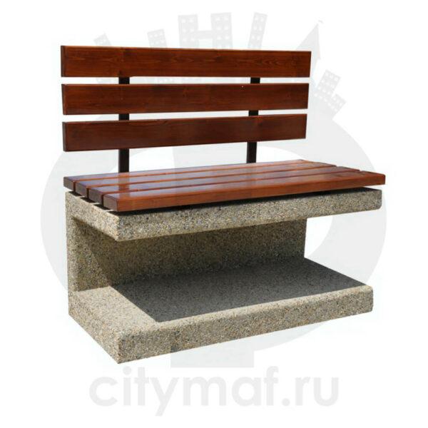 Скамейка бетонная 414