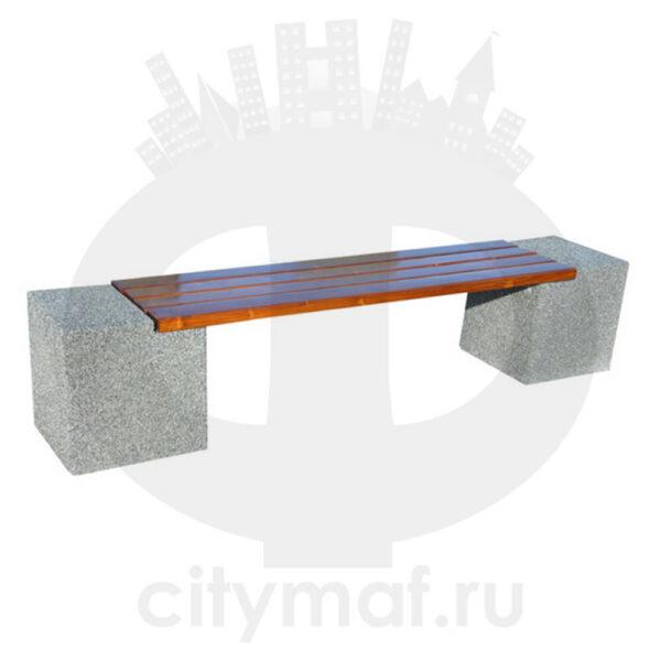 Лавочка бетонная 418