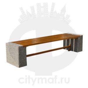 Лавочка бетонная 419