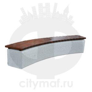 Лавочка бетонная 422