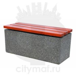 Лавочка бетонная 439