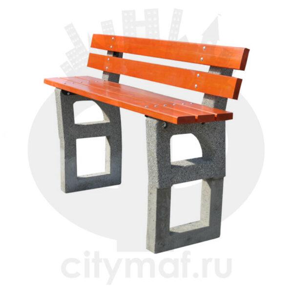 Скамейка бетонная 443B