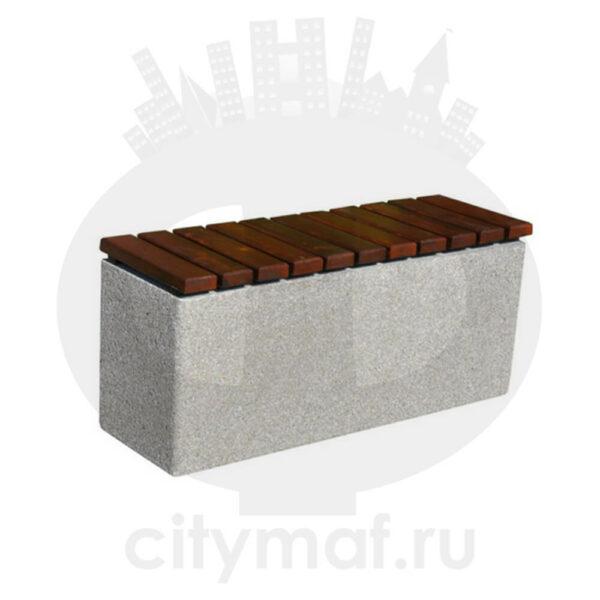 Лавочка бетонная 451