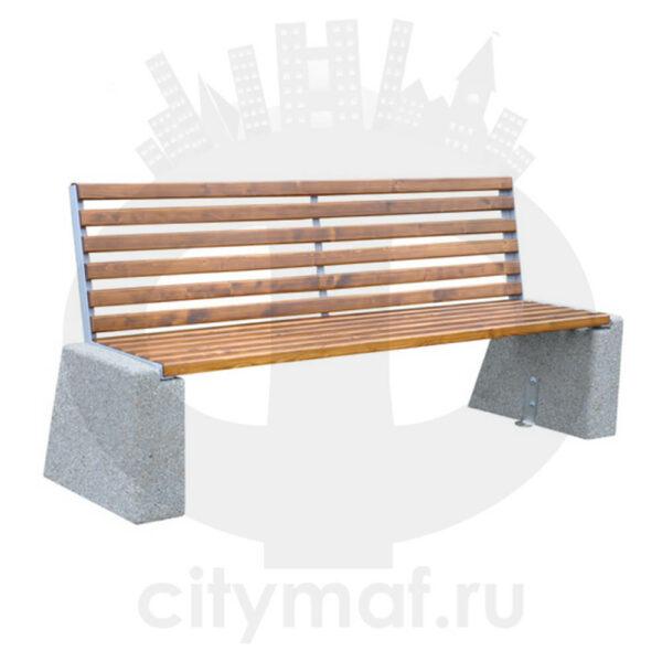Скамейка бетонная 452