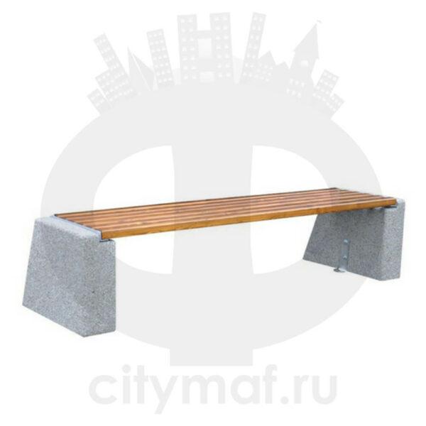 Лавочка бетонная 452B