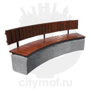 Скамейка бетонная 455b
