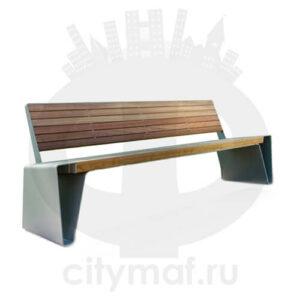 Скамейка стальная «Энигма»
