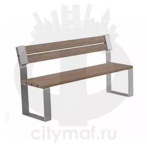 Скамейка «Идиллия» без подлокотников