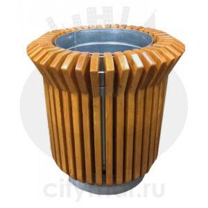Цветочница деревянная «Колокол»