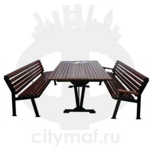 Комплект дачной мебели «Модерн»