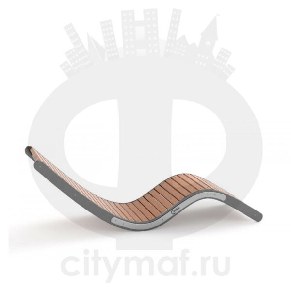 Парковый лежак «Семь»