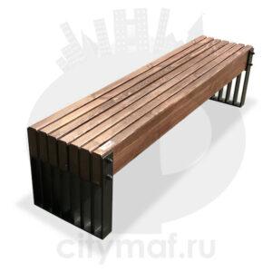 Скамейка без спинки «Simple line»