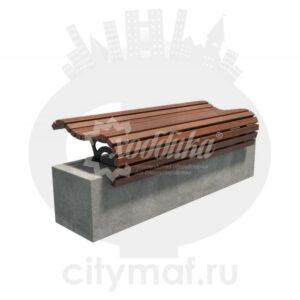 Скамейка без спинки «Подиум»