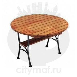 Садовый чугунный стол «Ратио»