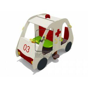 """ВСТ 5625 Игровой макет """"Автобус Скорая помощь"""""""