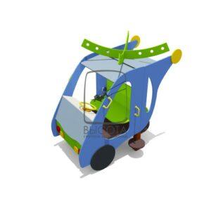 """ВСТ 5629 Игровой макет """"Вертолетик"""" мини"""