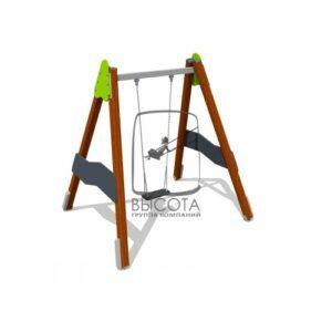 ВСТ 5715 Качели на деревянных столбах