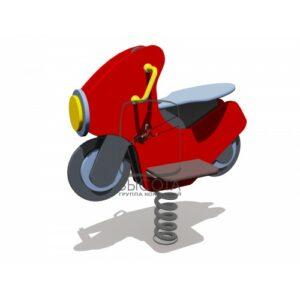 "ВСТ 5755 Качалка на 1 пружине ""Мотоцикл"""