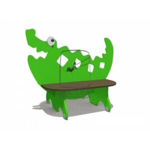 """ВСТ 5792 Скамейка детская """"Крокодил"""""""