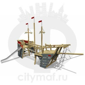 VST 0006 Детский игровой комплекс Корабль