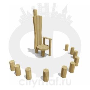 VST 0230 Столик детский со стульчиками