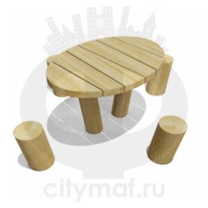 VST 0231 Столик детский со стульчиками