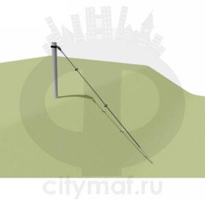 VST 1100 Канатная конструкция по склону 1