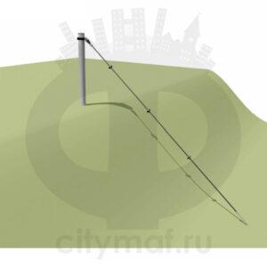 VST 1101 Канатная конструкция по склону 2